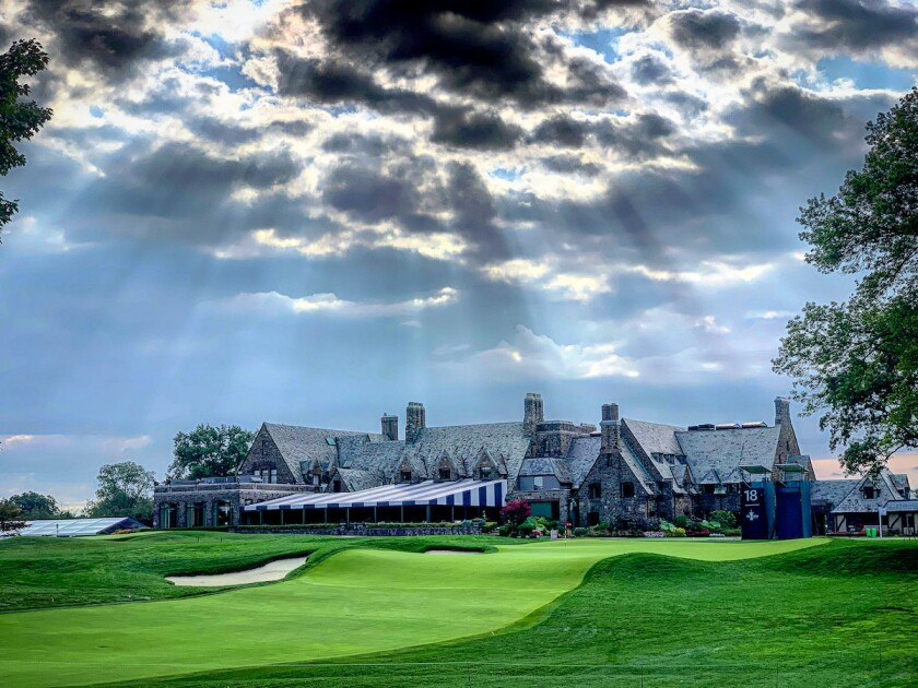 Winged Foot GC West Course 18th hole