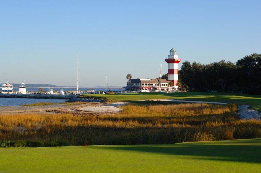 Harbour Town Golf Links — Hole No. 18
