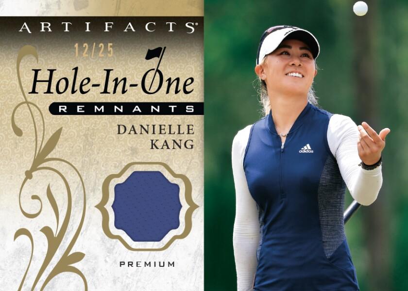 Upper Deck Danielle Kang trading card