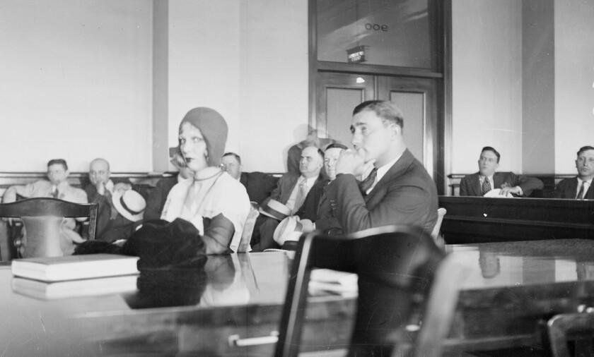 Machine Gun Jack McGurn and his girlfriend Louise Rolfe