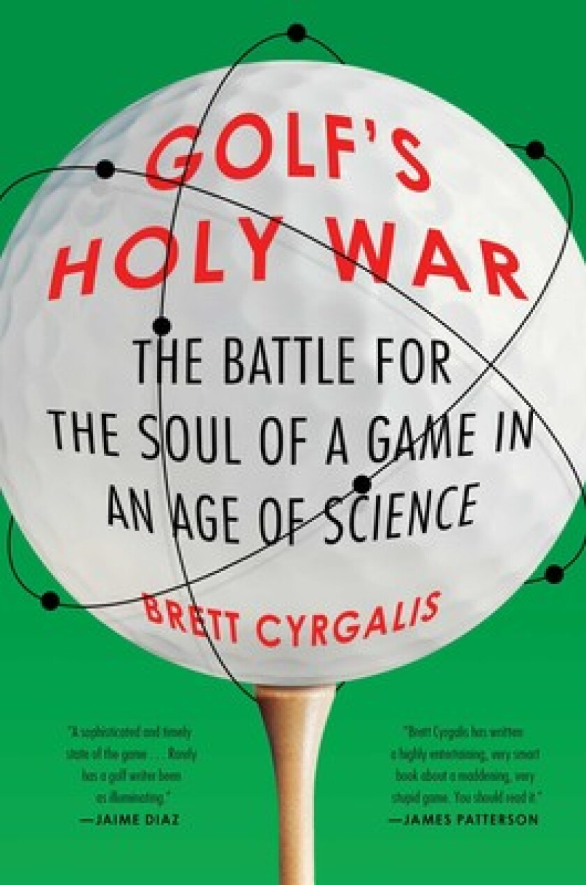 Golf's Holy War — Cover