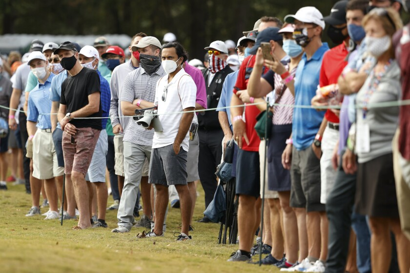 Fans return to PGA Tour in U.S. for round 1 of 2020 Houston Open