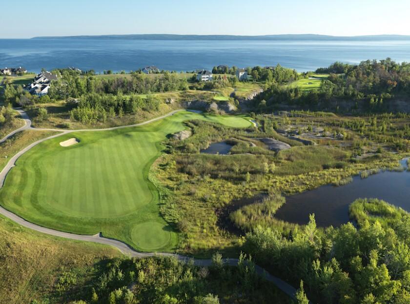 6th Hole, Bay Harbor Golf Club Quarry