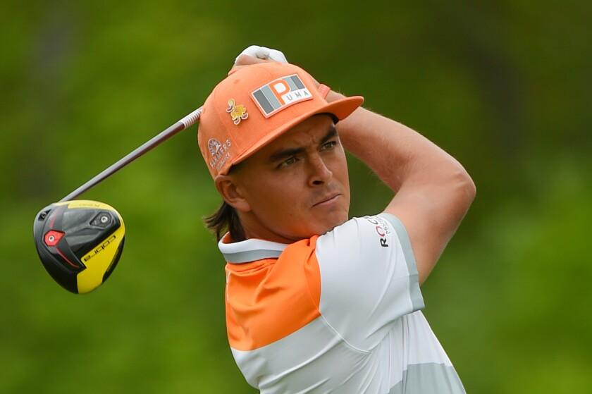 Rickie Fowler Golf Swing Finish