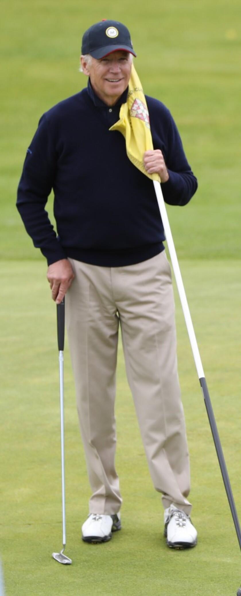 Joe Biden golfer