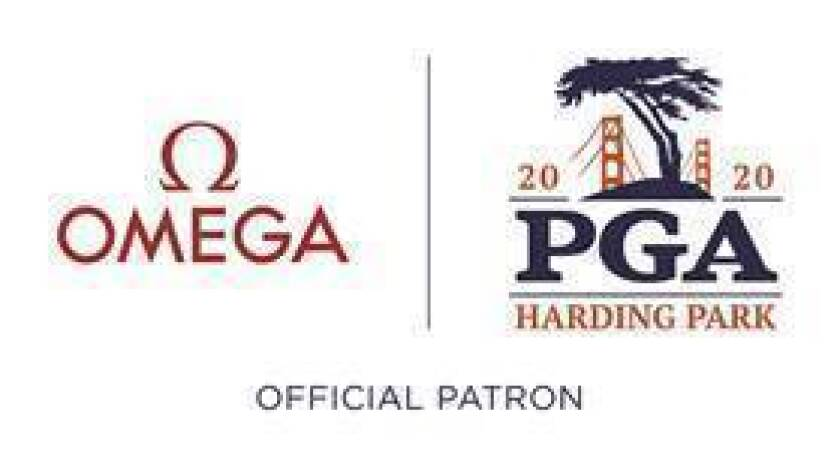 Omega and 2020 PGA at Harding Park logo