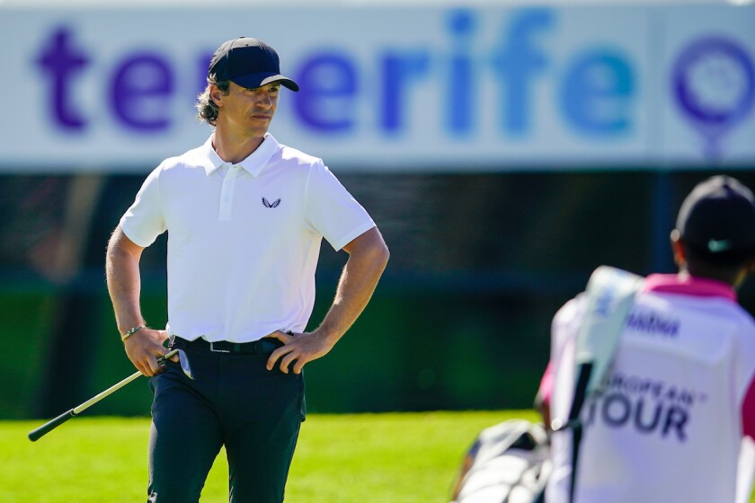 Thorbjorn Olesen shoots 62 for to lead 1st round of 2021 Tenerife Open