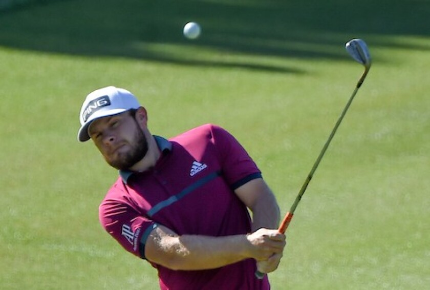 Tyrrell Hatton leads 1st round of 2020 CJ Cup at Shadow Creek