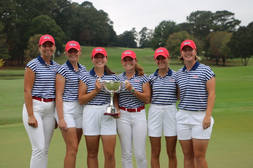 Ole Miss' women's team wins 2020 East Lake Cup