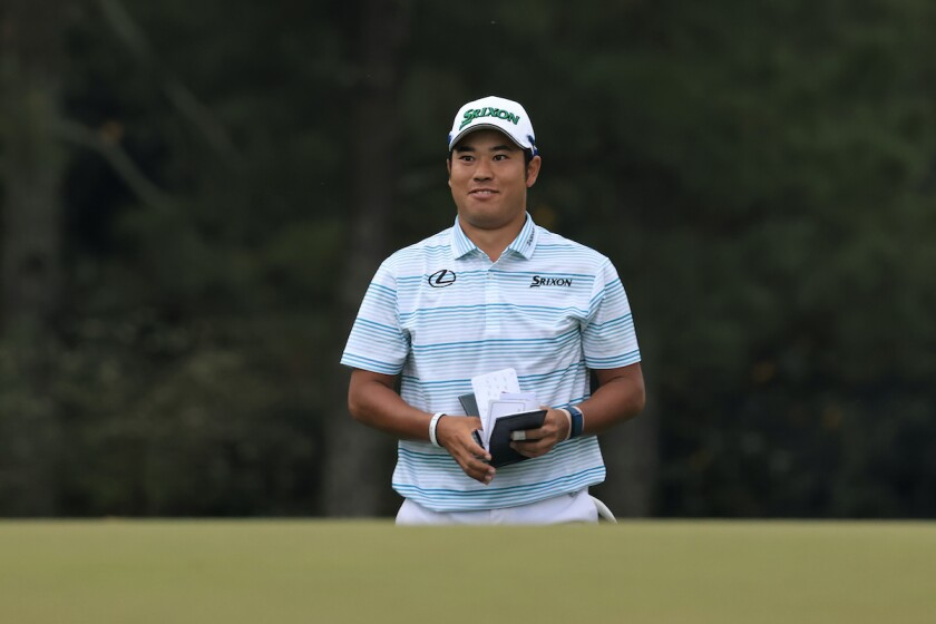 Hideki Matsuyama leads after third round of 2021 Masters