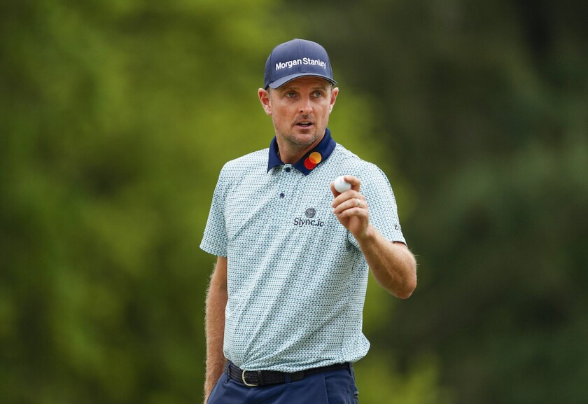 Justin Rose leads after second round of 2021 Masters