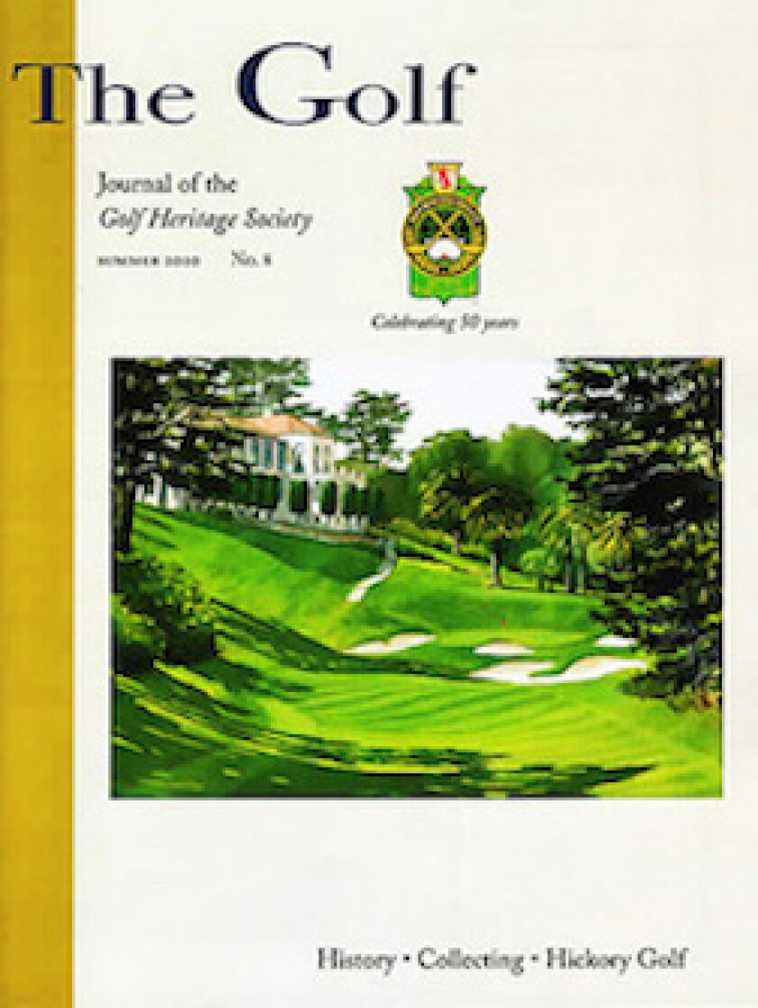 Golf Heritage Society journal