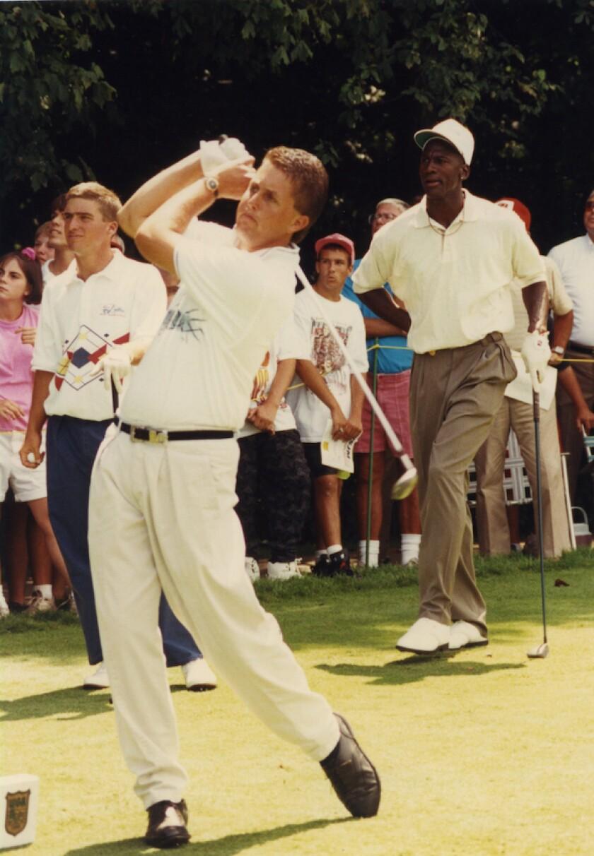 Phil Mickelson, Michael Jordan