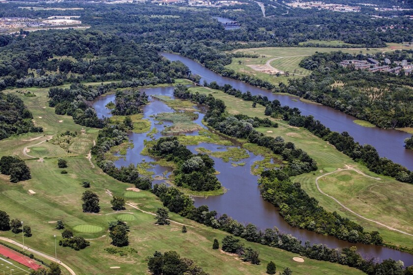 Langston Golf Course, first opened in 1939, is one of three 18-hole golf courses on National Park Service land in Washington, DC  NPS  Marcey Frutchey