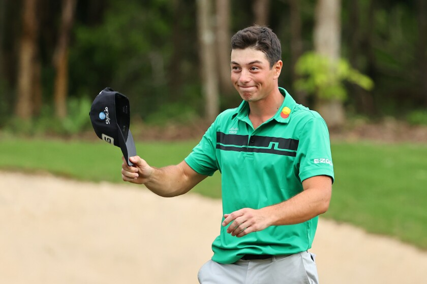 Viktor Hovland wins 2020 Mayakoba Golf Classic