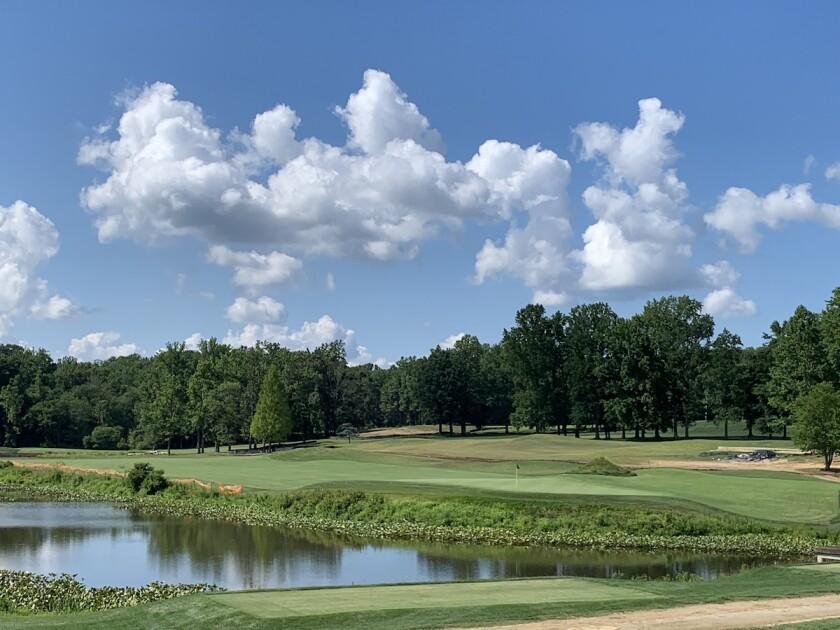 Eisenhower Golf Course in Crownsville, Md.