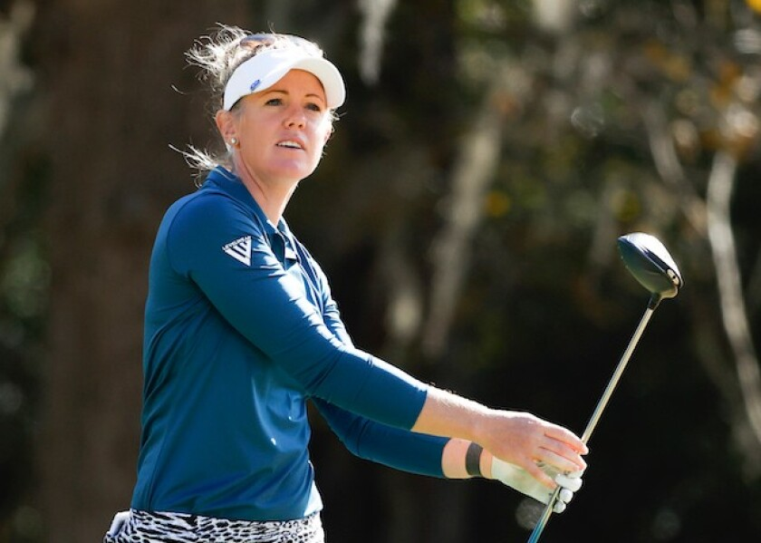 Amy Olson 1st round 2020 U.S. Women's Open