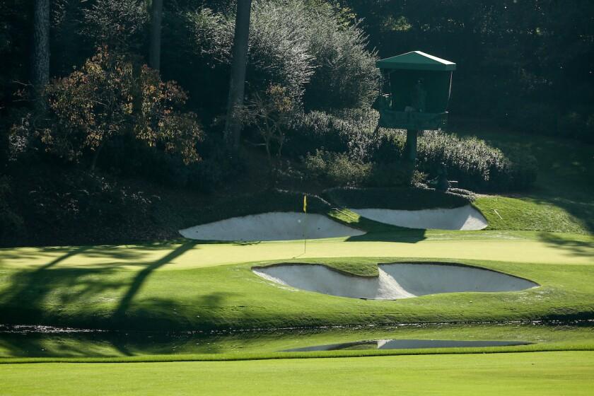 Augusta National Golf Club — Hole No. 12 [Side]