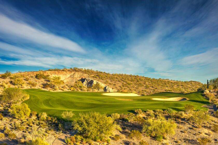 Wickenburg Ranch Golf and Social Club, Hole No. 17