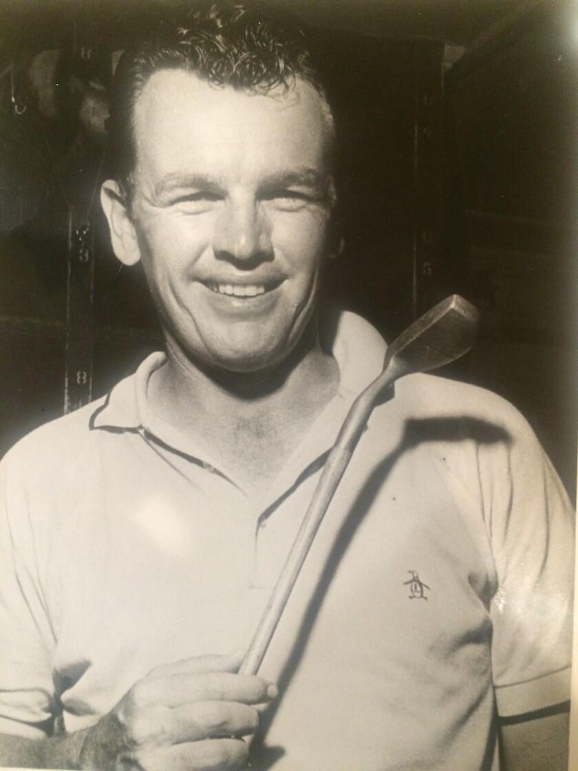 A young Jack Burke Jr.