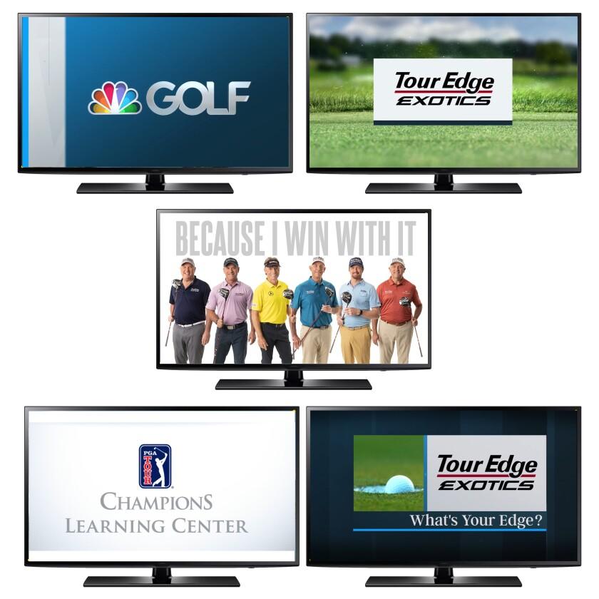 Tour Edge — Golf Channel Release