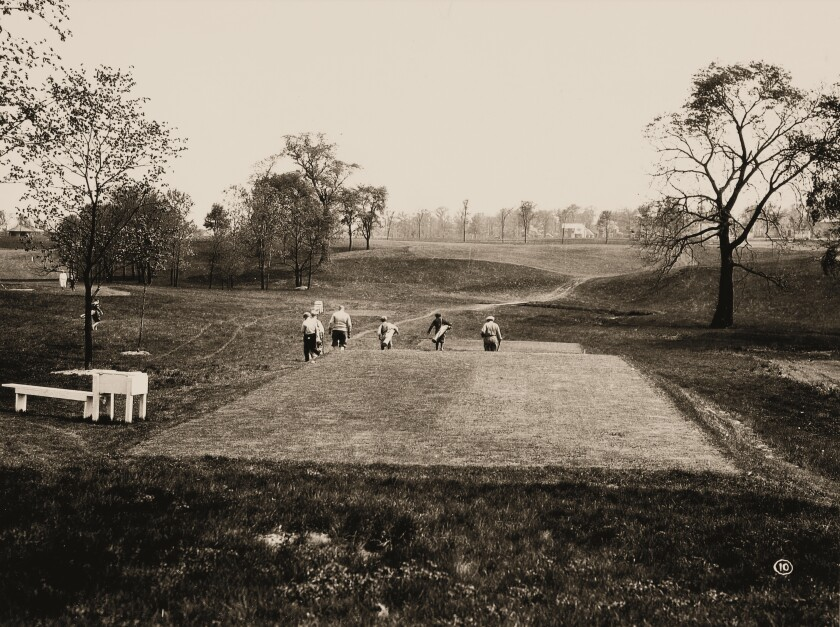 Scioto Country Club — Hole No. 6