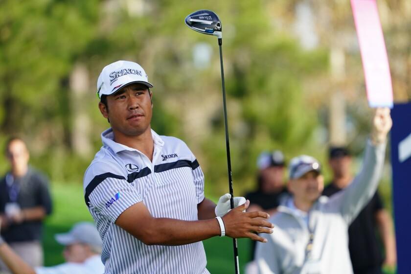 Hideki Matsuyama leads first round 2020 Players Championship