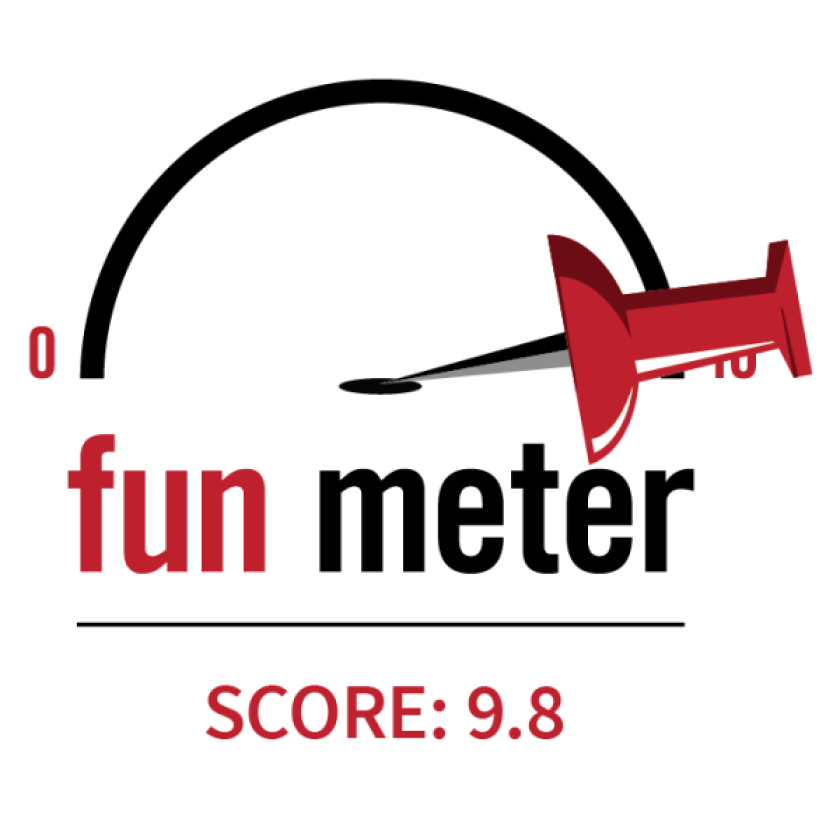 9.8 Fun Meter