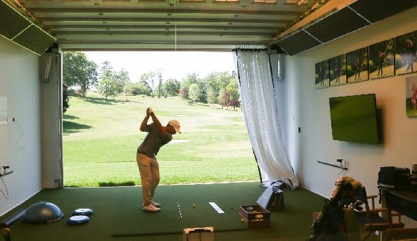 St. Andrew's Golf Club — Hitting Bay