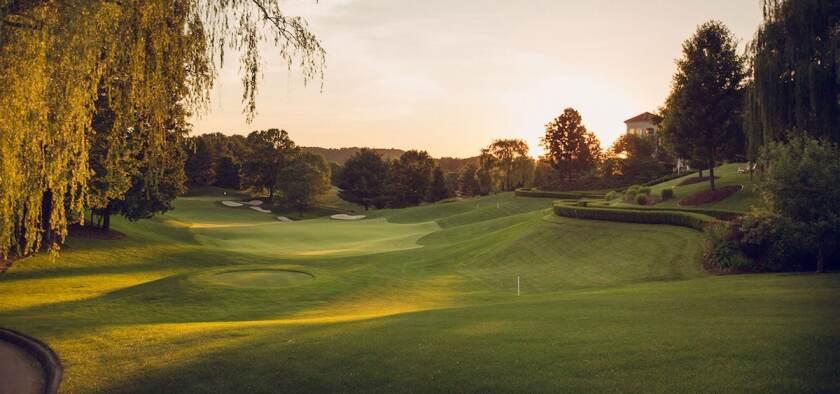 The Virginian 12th hole