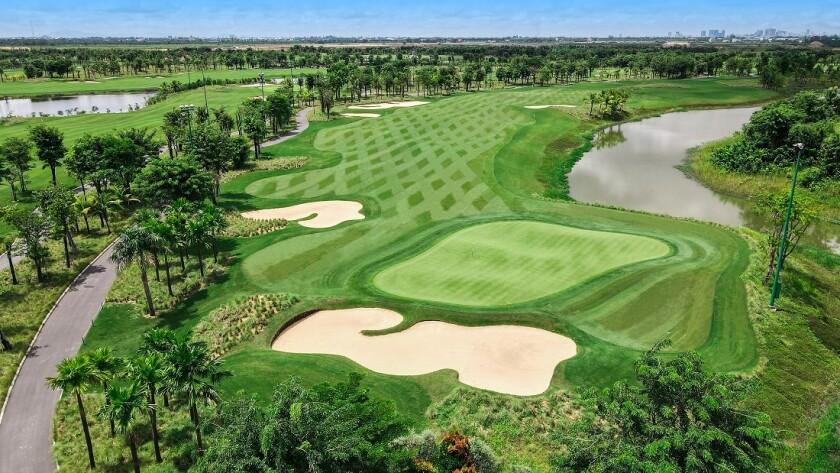 Vattanac Golf Resort's West Course in Phnom Penh, Cambodia