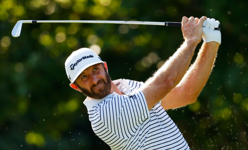 Dustin Johnson 3rd round 2020 Tour Championship