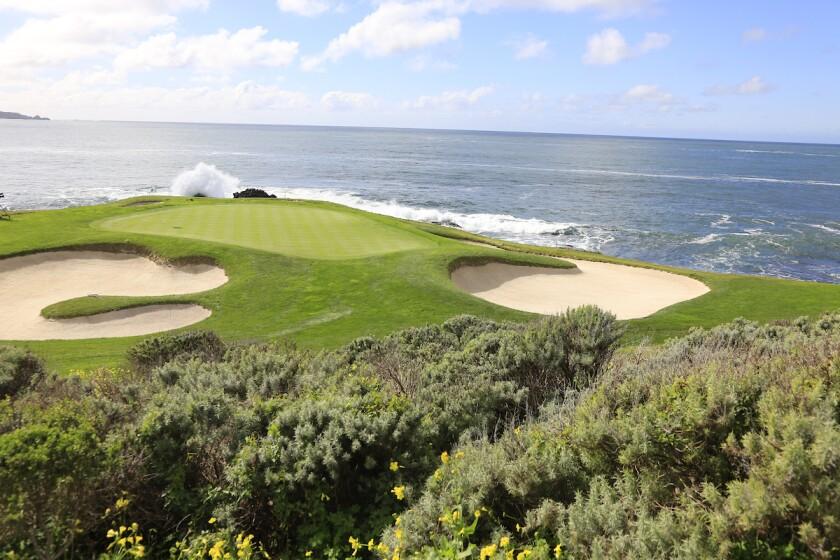 Pebble Beach No. 7 hole