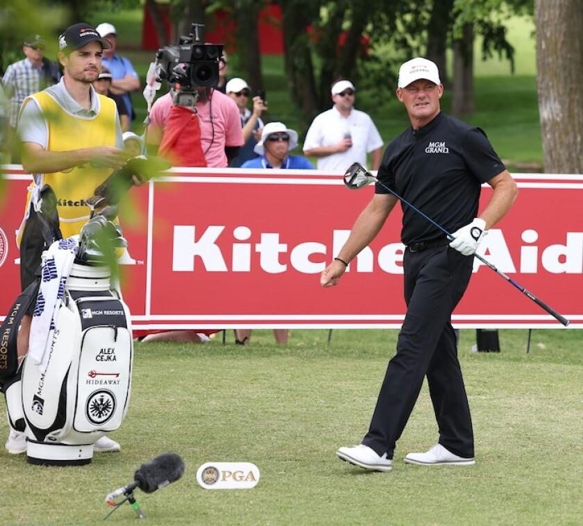 Alex Cejka wins 2021 Senior PGA