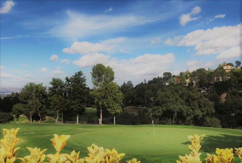 Woodland Hills Country Club in Woodland Hills, Calif.