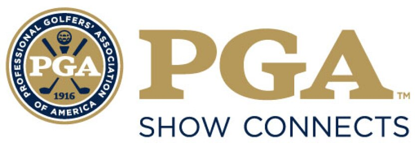 PGA Show Connects logo