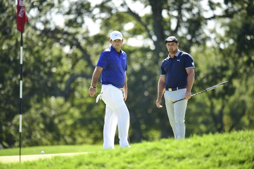 Patrick Reed and Bryson DeChambeau 3rd round 2020 U.S. Open