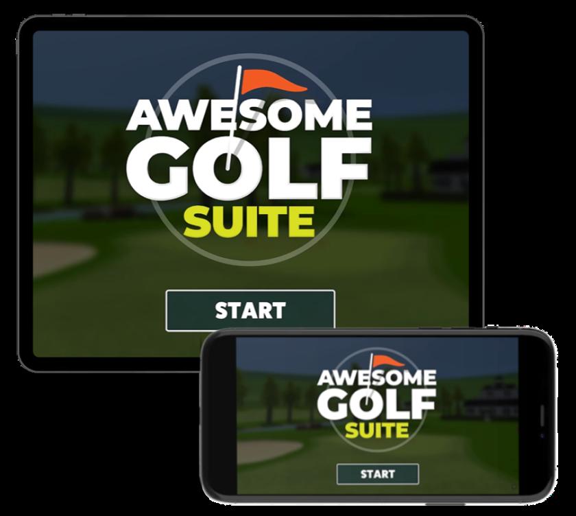 Awesome Golf — iPad | iPhone