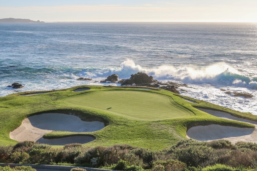 Pebble Beach Golf Links — Hole No. 7
