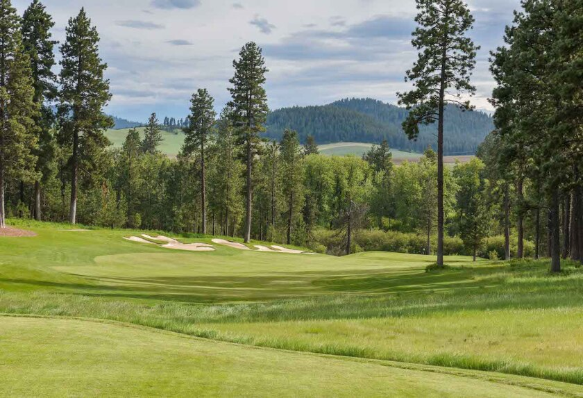 Circling Raven GC in Worley, Idaho