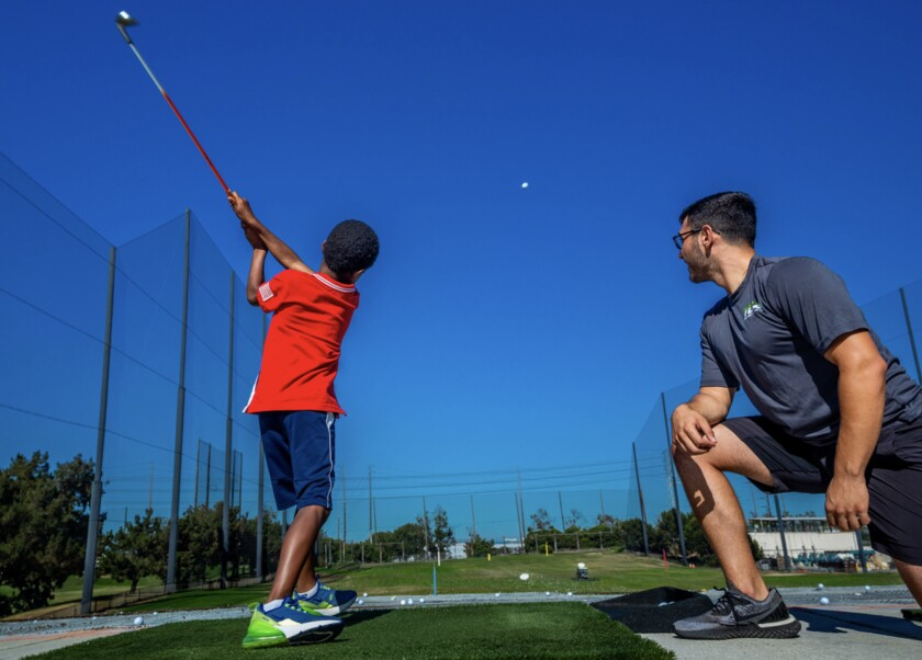 TGA golf camps