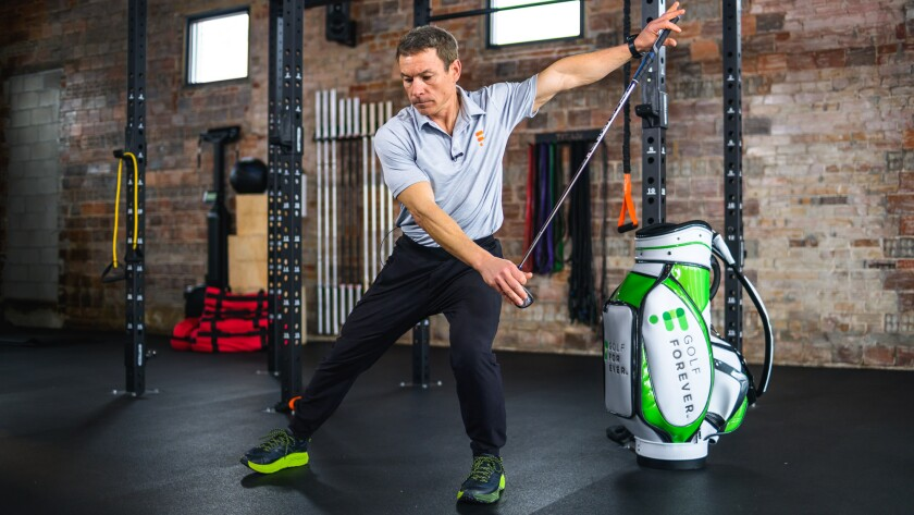 GolfForever Morning Read generating maximum power and balance for golf game