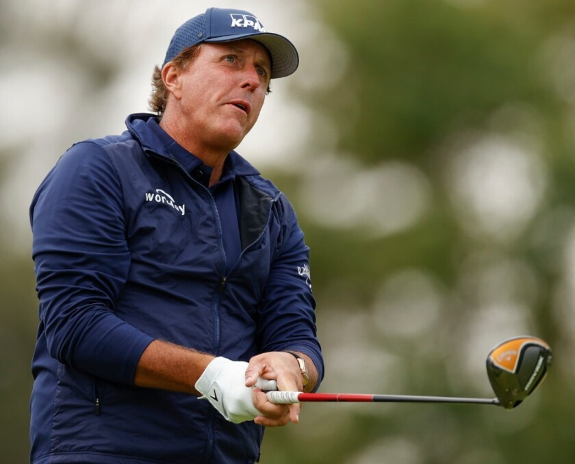 Phil Mickelson 2nd round 2020 U.S. Open