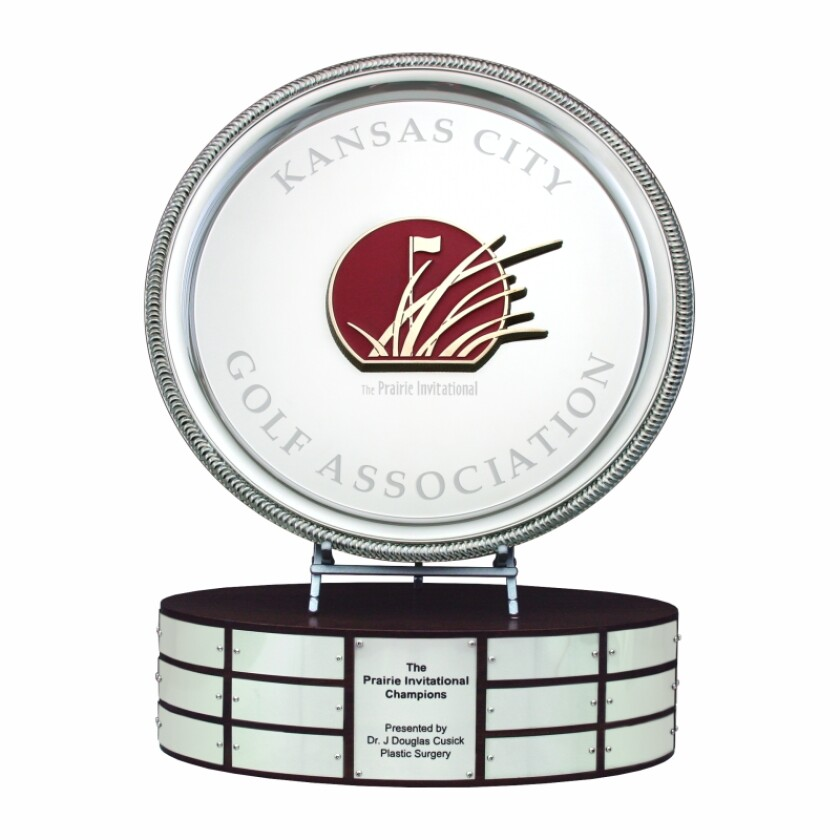 Malcolm DeMille Central Golf Links Prairie Invitational trophy