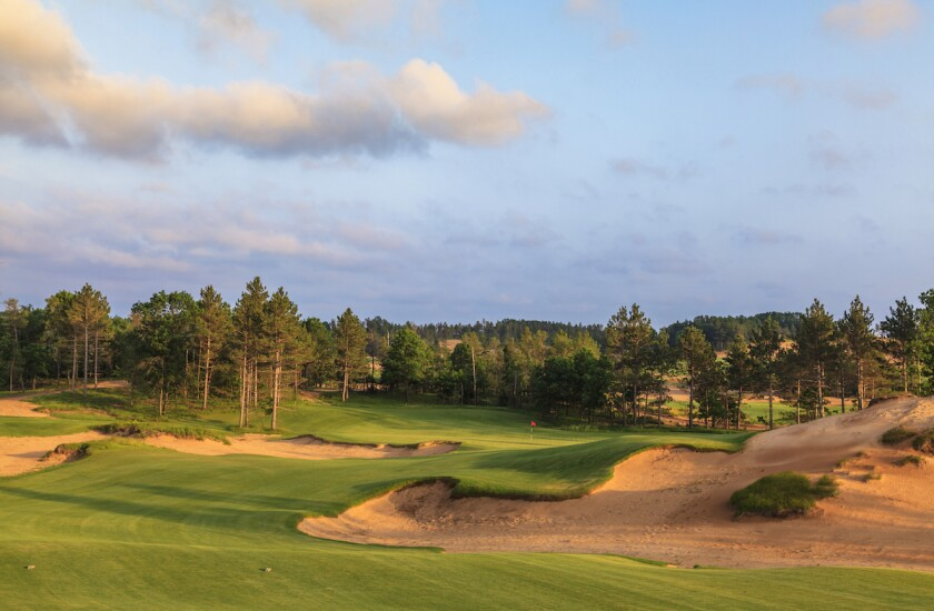 Sand Valley, Mammoth Dunes — Hole No. 16