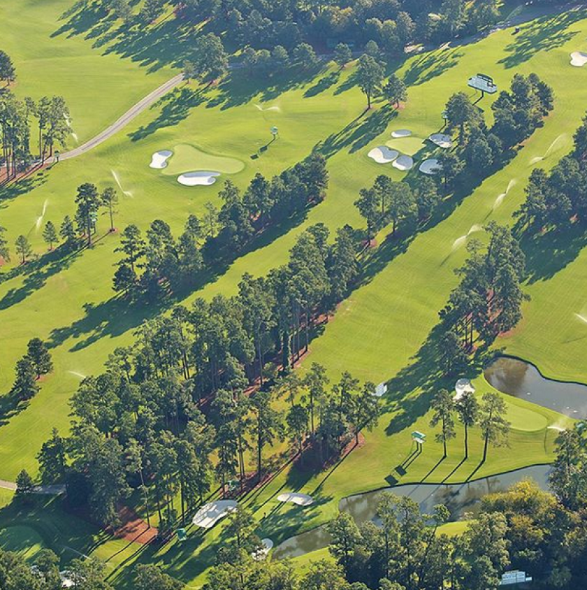 Augusta National in early fall during preparations for 2020 Masters