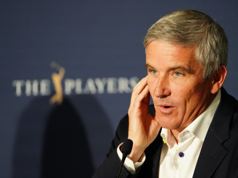 PGA Tour commissioner Jay Monahan