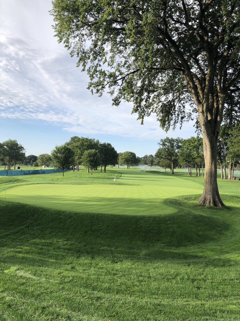 Winged Foot GC West Course 2nd hole