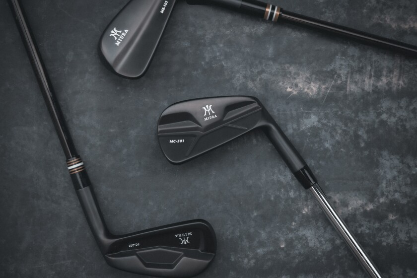 Miura Golf — Black Matte [1]