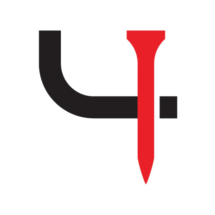 Short Par 4 Icon Logo
